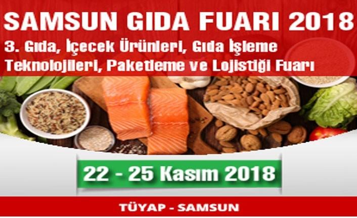 Samsun Gıda Fuarı 2018 açılıyor!