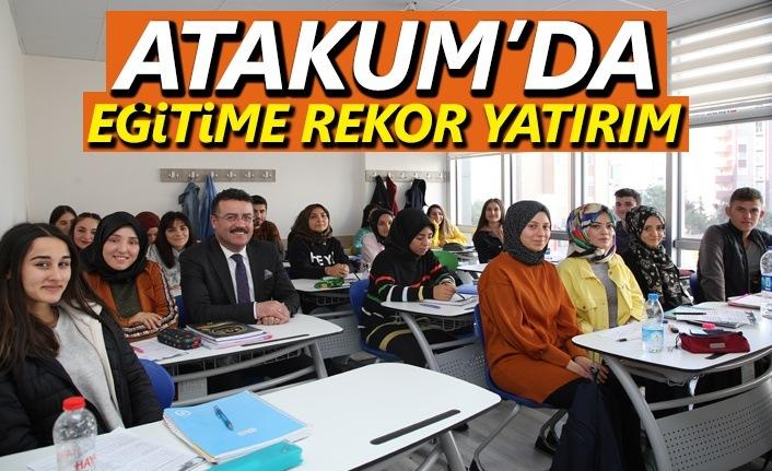 Atakum'da eğitime rekor yatırım ,Onlar bizim geleceğimiz
