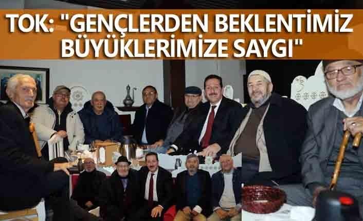 Başkan Erdoğan Tok huzurevi sakinleri ile buluştu