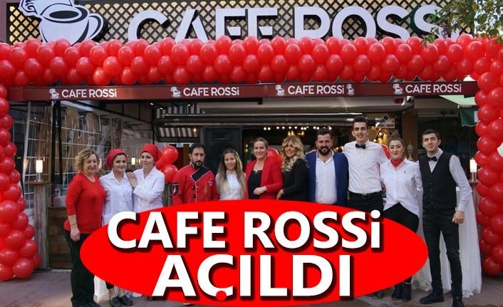 Cafe Rossi Görkemli Bir Törenle  Açıldı