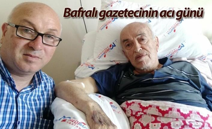 Gazeteci Abdullah Özdemir'in baba acısı