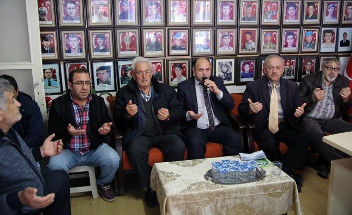 Kahraman Mehmetçiklerimiz için Samsun'da dualar okundu