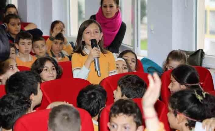 Öğrenciler sordu Samsunsporlu futbolcular yanıtladı