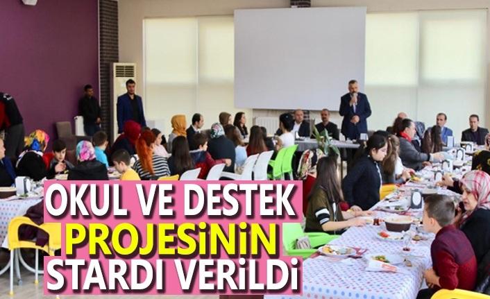 Okul ve Destek Projesi Bafra'da Start Verdi