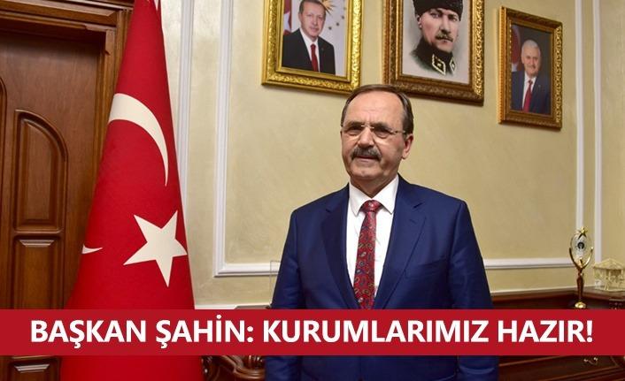 Samsun Büyükşehir Belediyesi'nde 'Yılbaşı' önlemleri alındı
