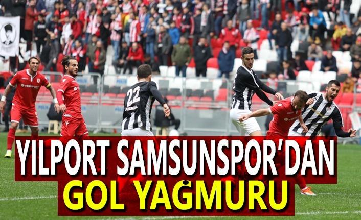 Yılport Samsunspor-Manisaspor maç sonucu: 4-0