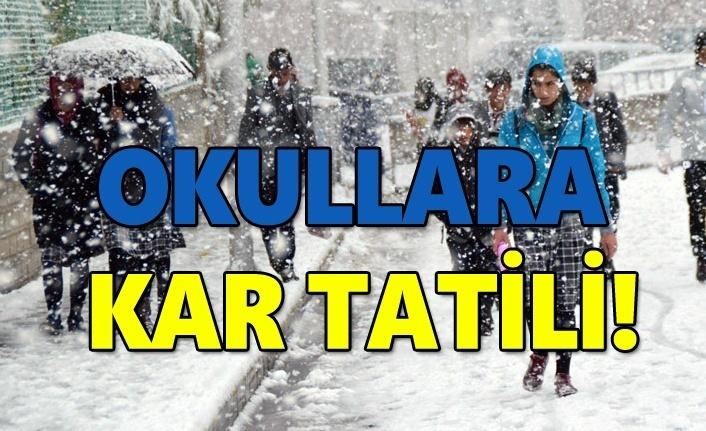 7 Ocak Pazartesi Samsun'da okullara kar tatili yapılan ilçeler