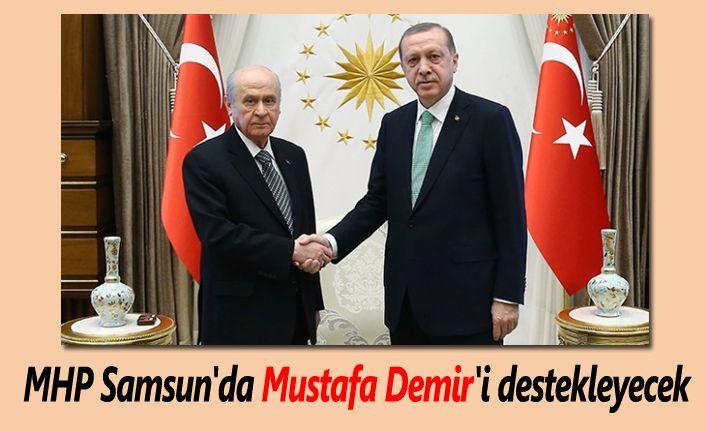 AK Parti ile MHP Samsun için anlaştı!