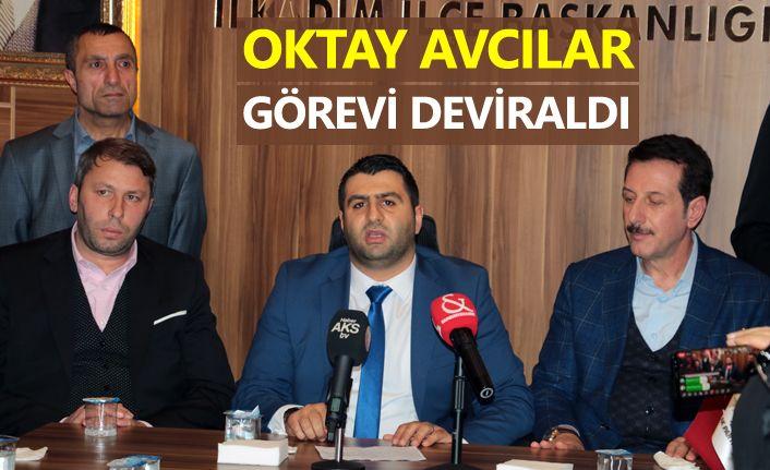 AK Parti İlkadım İlçe Başkanlığı'nda devir teslim töreni yapıldı