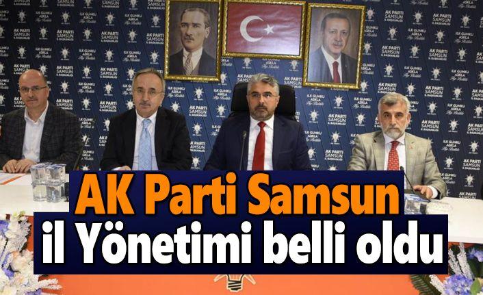 AK Parti Samsun İl Yönetimi belli oldu