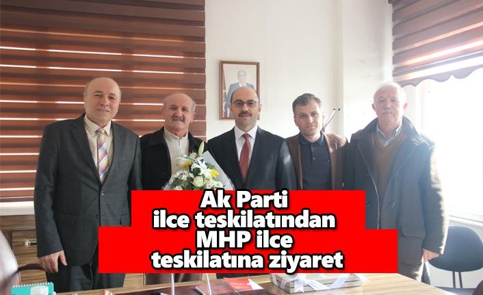 Ak Parti ilçe teşkilatından MHP ilçe teşkilatına ziyaret