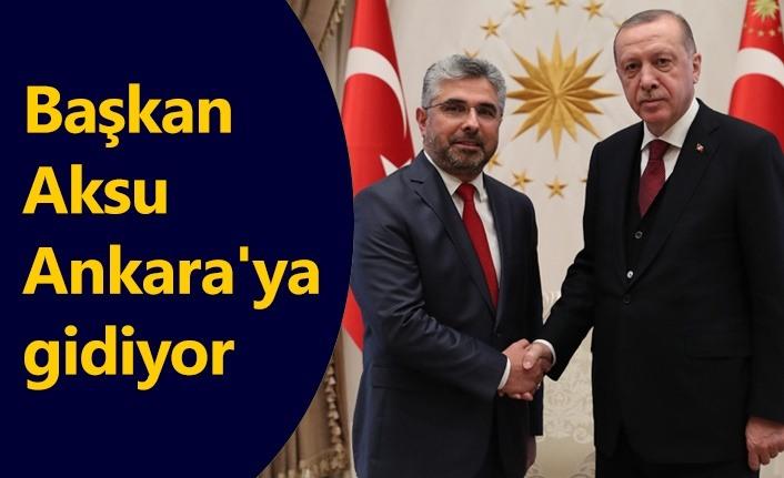 Başkan Ersan Aksu'nun 'Yönetim Kurulu' mesaisi!