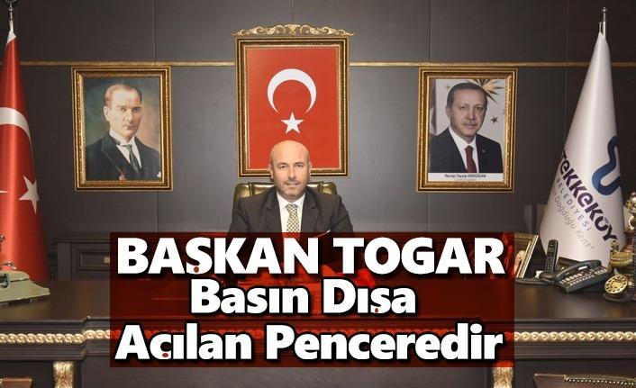 Başkan Togar 10 Ocak Çalışan Gazeteciler Gününü kutladı