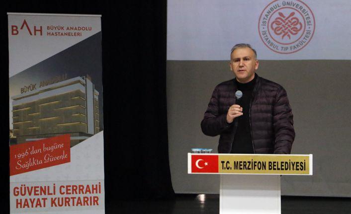 Büyük Anadolu Hastaneleri'nden Merzifon'da sağlık semineri