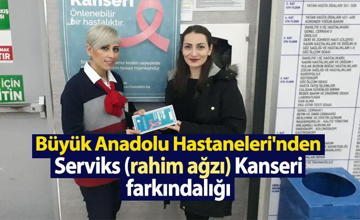 Büyük Anadolu Hastaneleri'nden  rahim ağzı kanseri farkındalığı