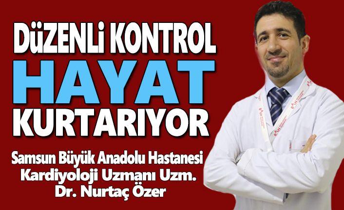 Büyük Anadolu Hastanesi Bilgilendiriyor Düzenli  Kalp Kontrolü Hayat Kurtarıyor