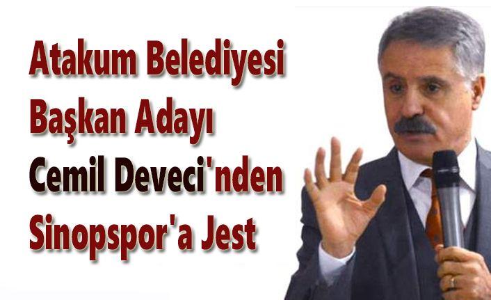 Cemil Deveci'nden Sinopspor'a Jest