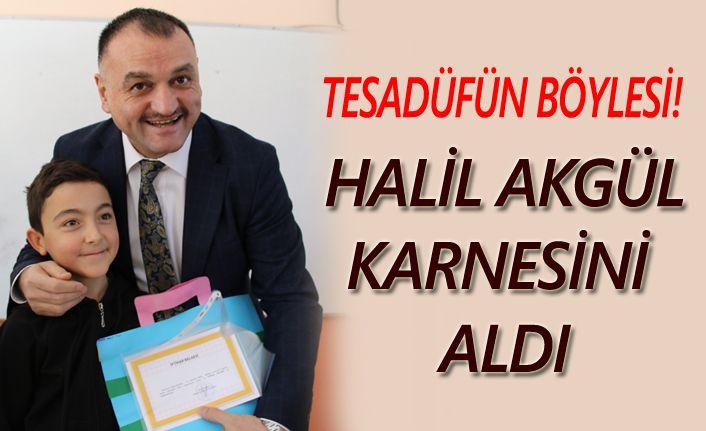 Halil Akgül adaşına karne verdi!