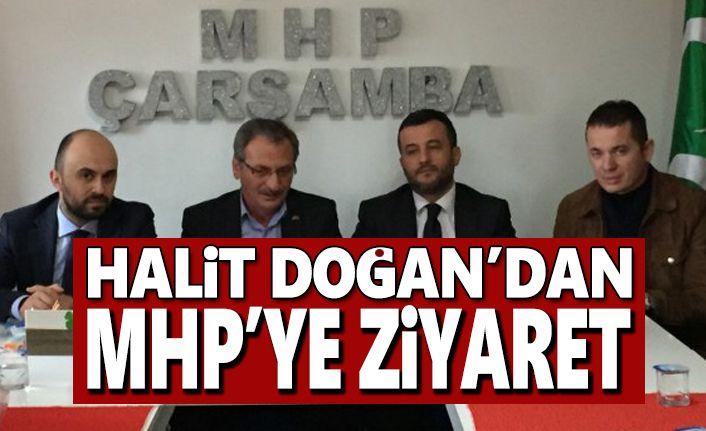 Halit Doğan MHP'yi ziyaret etti
