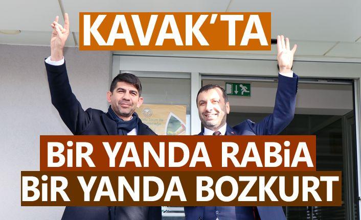 Kavak'ta AK Parti ve MHP el ele