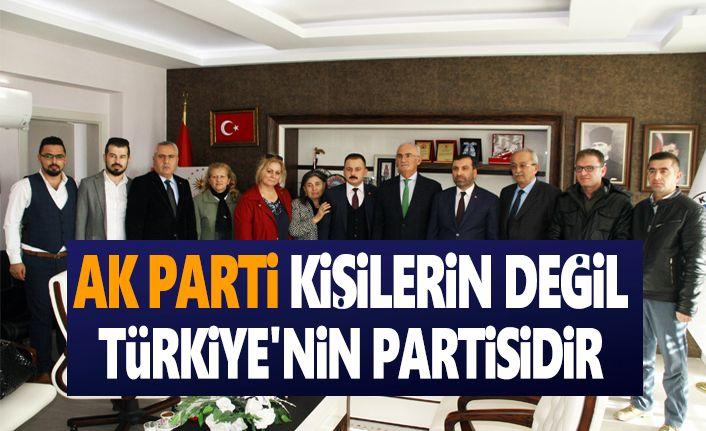 Milletvekili Yılmaz ,Ak Parti Türkiye'nin partisidir