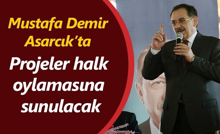 Mustafa Demir: Yatırım için arsa üreteceğiz