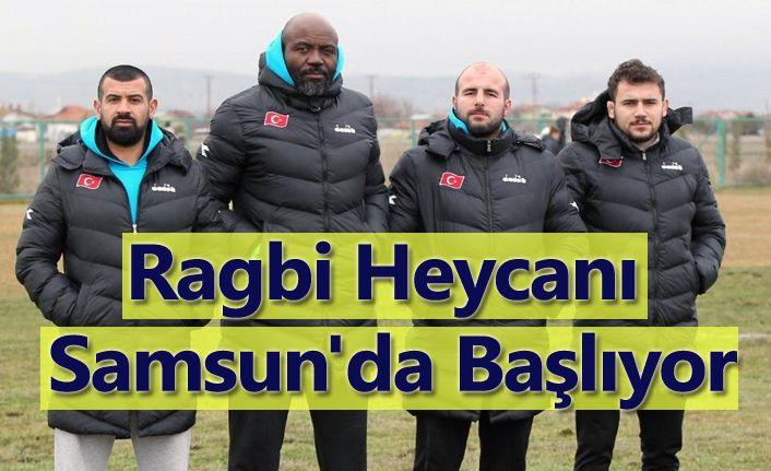 Ragbi Heycanı Samsun'da Başlıyor