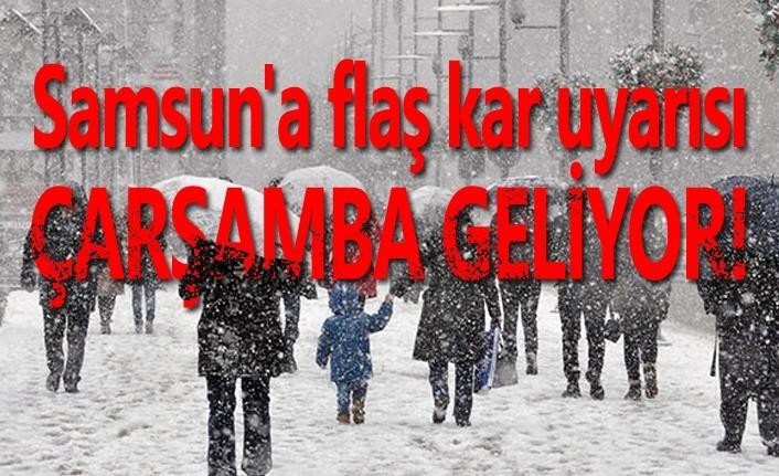 Samsun'a kar ne zaman yağacak? Meteoroloji açıkladı