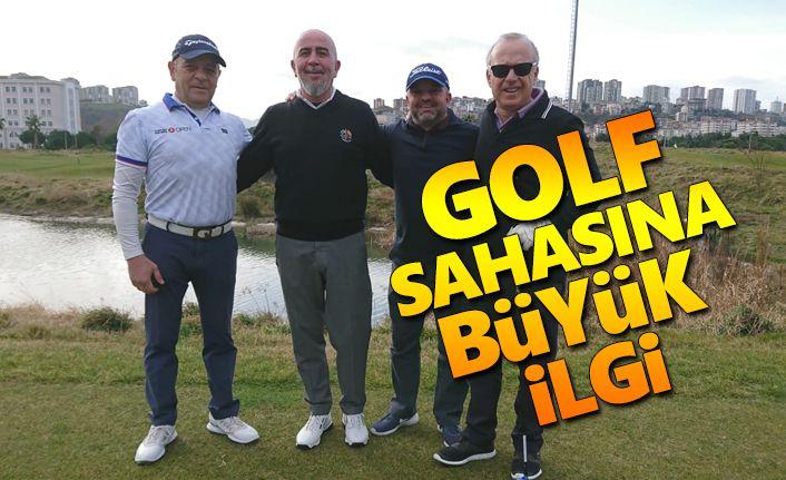 Samsun'da Golf sahasına büyük ilgi