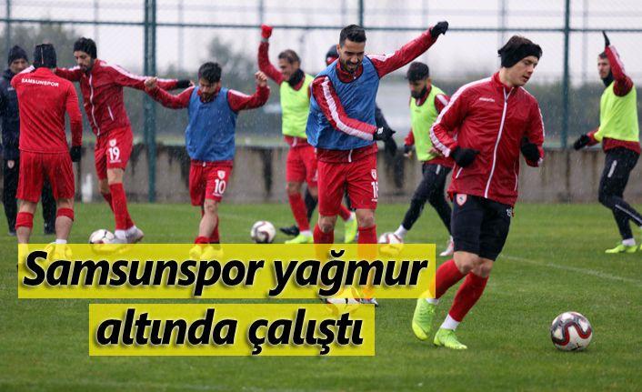 Samsunspor'da hazırlık maçı iptal idmana devam!