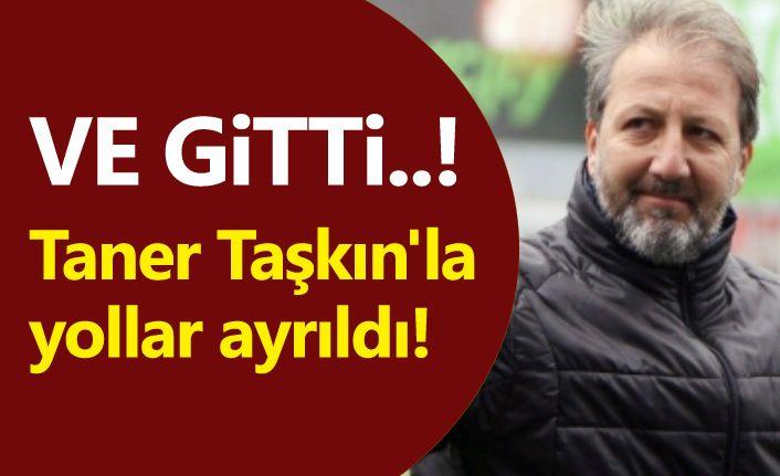 Samsunspor'da şok istifa, Taner Taşkın'la yollar ayrıldı!