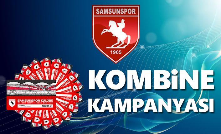 Samsunspor özel kombine kampanyası başlattı!