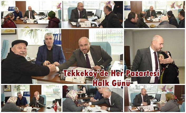 Tekkeköy'de Halk Günleri Devam Ediyor