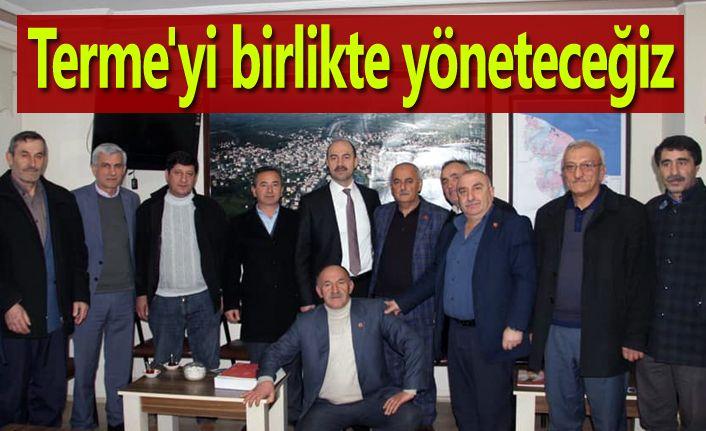 Terme Belediye Başkan Adayı Ali Kılıç: Birlikte yöneteceğiz