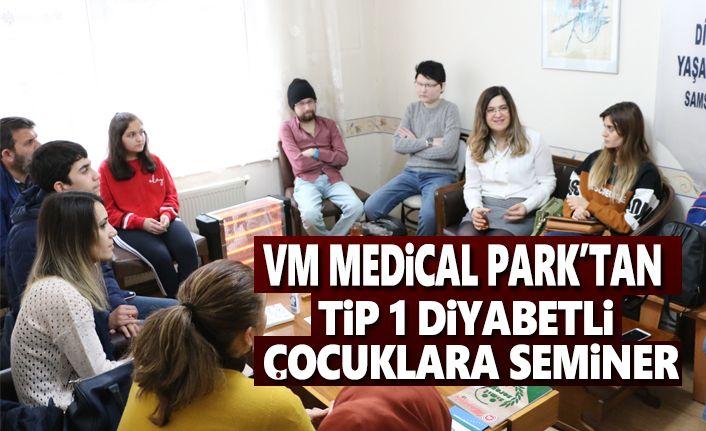 VM Medical Park'tan Tip 1 Diyabetli Çocuklara Seminer