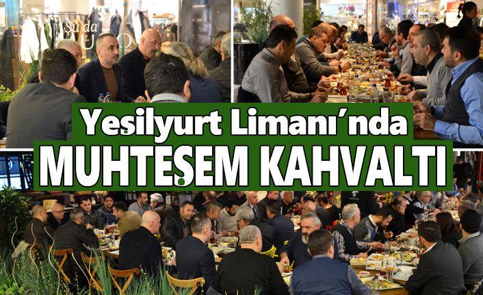 Yeşilyurt Limanı yıllık kahvaltısında iş ortakları ile bir araya geldi