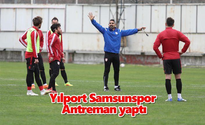 Yılport Samsunspor antrenman yaptı