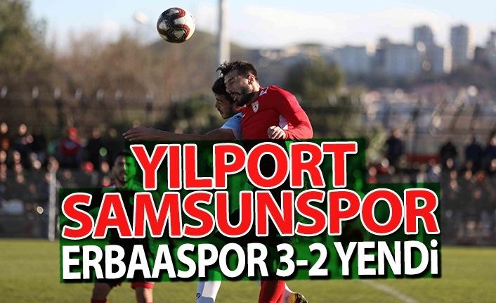 Yılport Samsunspor Erbaaspor'u 3-2 Yendi