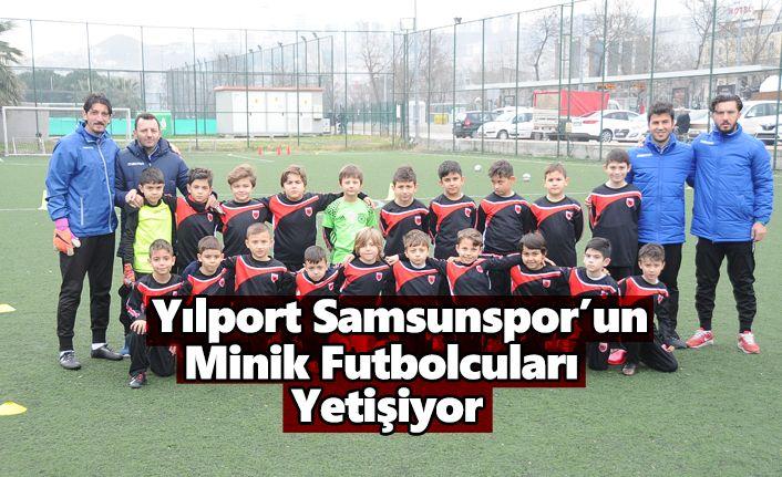 Yılport Samsunspor Futbol Okulları çalışmalarına devam ediyor