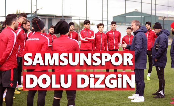 Yılport Samsunspor taktik çalıştı