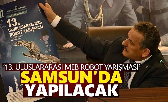 13. Uluslararası Robot Yarışması Samsun'da yapılacak
