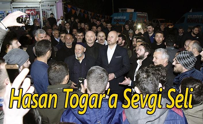 Başkan Hasan Togar söz verdi!
