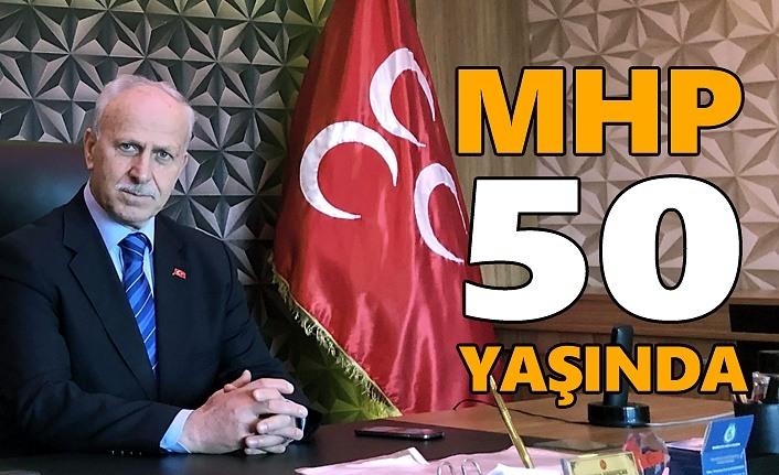 Başkan Karapıçak'tan 50. yıl mesajı