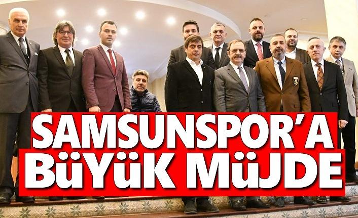 Başkan Zihni Şahin'den Samsunspor'a Müjde
