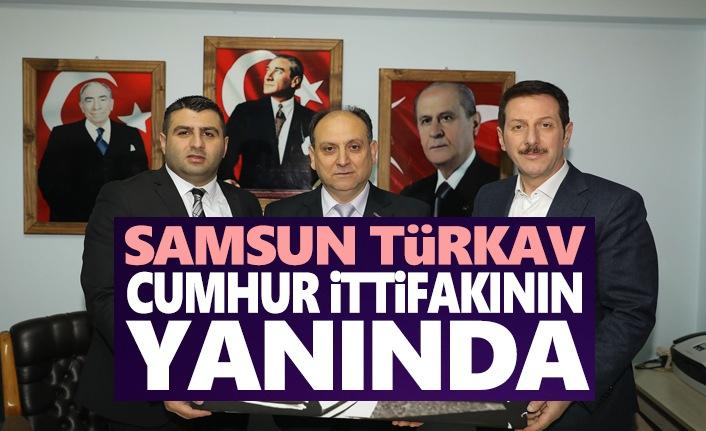 Başkan Tok Türkav İle Buluştu