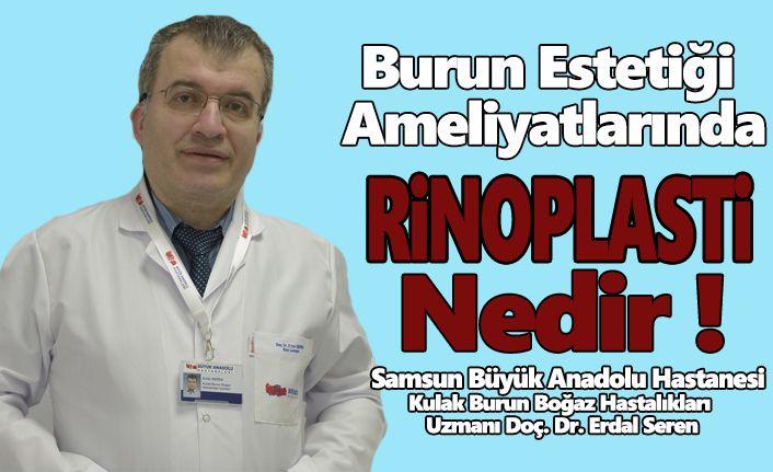 Büyük Anadolu'da Burun estetiği ameliyatlarında Rinoplasti yöntemi