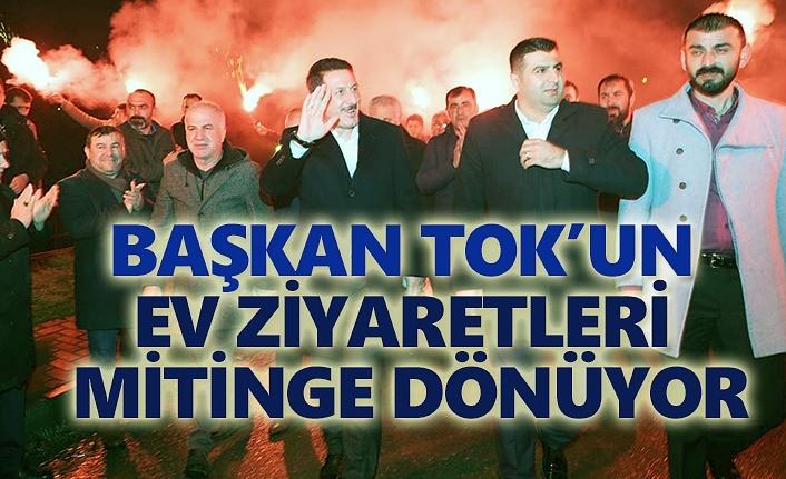 Cumhur İttifakı coşkusu İlkadım'da sokakları sarıyor