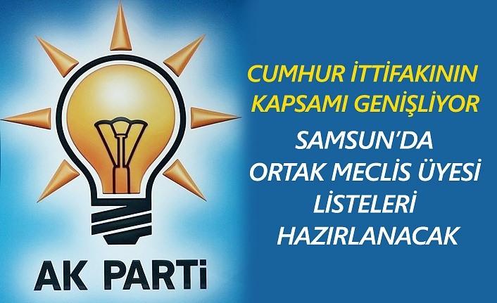 Cumhur İttifakı'nın Kapsamı Samsun'da Genişliyor