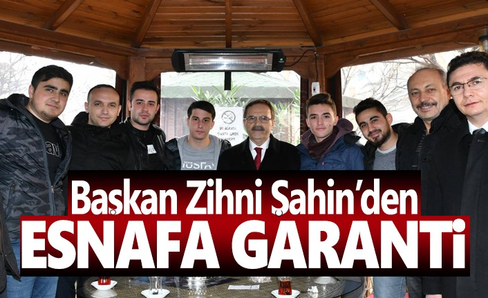 Cumhur İttifakı'nın Atakum Başkan Adayı Şahin'den Esnafa Garanti