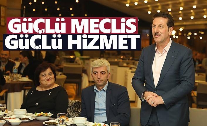 Erdoğan Tok: Güçlü meclis güçlü hizmet